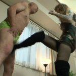 新宿MヤプーのJUN女王様の金蹴り動画!美脚でハードな踏みつけ拷問!